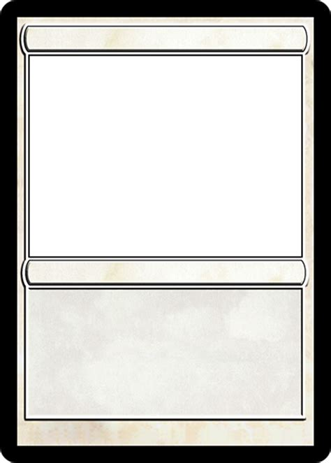 magic card template magic card maker
