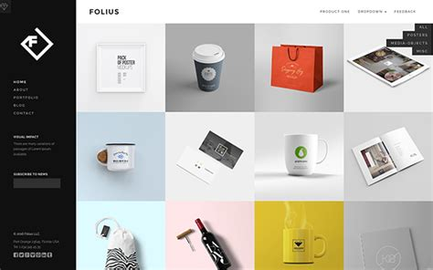 folius portfolio template bootstrap portfolio and