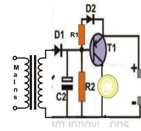 Rechargeable Led L Circuit Diagram by Simple Hobby Electronic Circuits