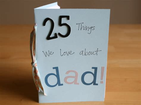 Fathers Day Handmade Gifts - 25 things we about make and takes