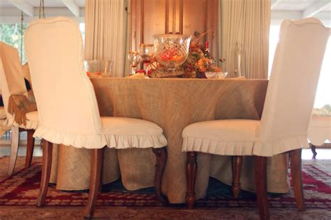 burlap couch covers burlap dining chair slipcovers home design ideas