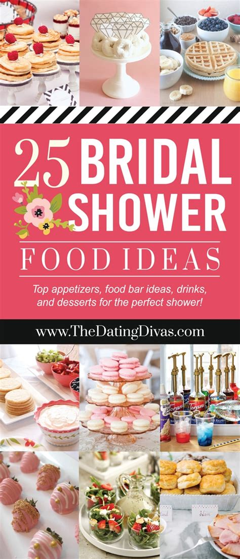 best wedding shower menu trubridal wedding 150 bridal shower ideas