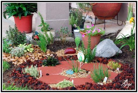 Cajun Gardening Herbal Rock Garden Rock Garden Herbs
