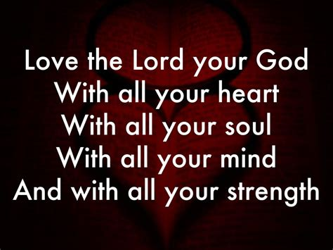 images of love the lord with all your heart love the lord your god with all your heart with all
