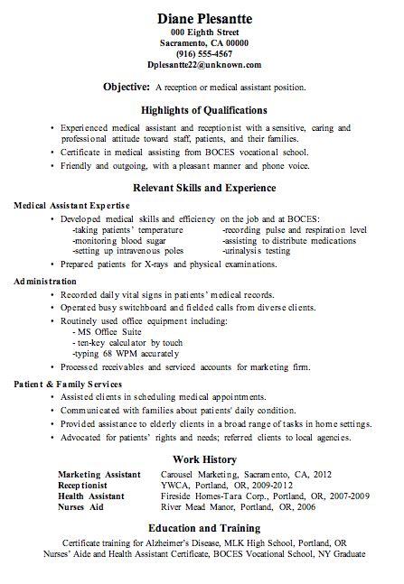 medicalront office job description yun56 co assistant sample