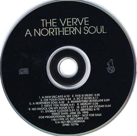 Cd Soul Id Jiwaraga the verve a northern soul us promo cd album cdlp 107068