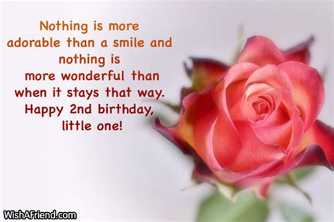 Happy 2nd Birthday To My Quotes 2nd Birthday Wishes
