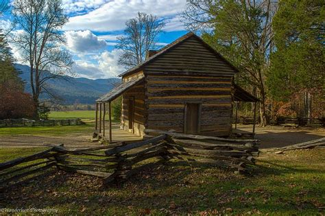 Johns Cabin by Oliver Cabin Cades Cove Tn Photograph By Paul Herrmann