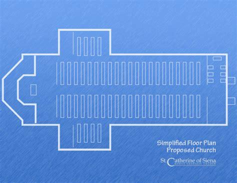 roman catholic church floor plan saint catherine of siena roman catholic church