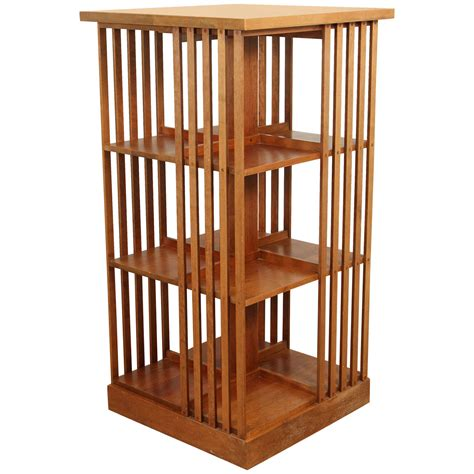 signed stickley revolving bookcase at 1stdibs