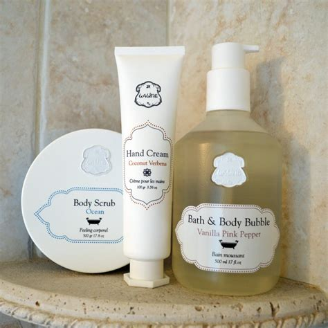 Bathtub Products by Laline Bath Products Bay Area Fashionista