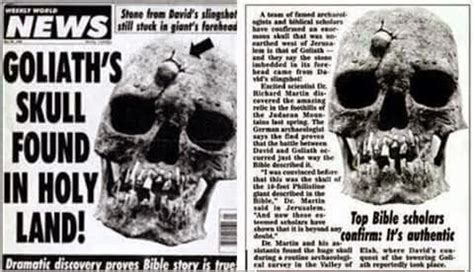 slew foot in the bible newsytalk group goliath s skull found with david s stone