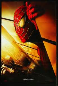 Movie poster quot spider man quot 2002 recalled poster