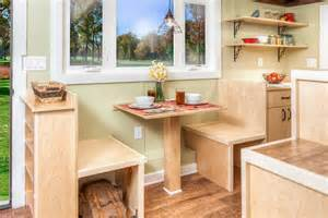 Tiny House Furniture by University Students Build Bayview Tiny House