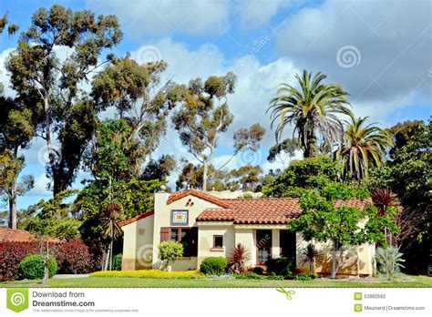 Balboa Park International Cottages by Spain House Of Pacific Relations International Editorial