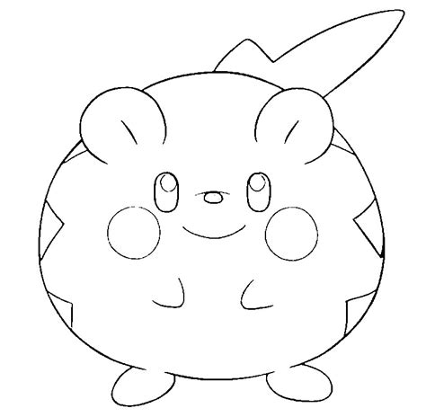 morning kids net coloring pages pokemon coloring pages pokemon togedemaru drawings pokemon