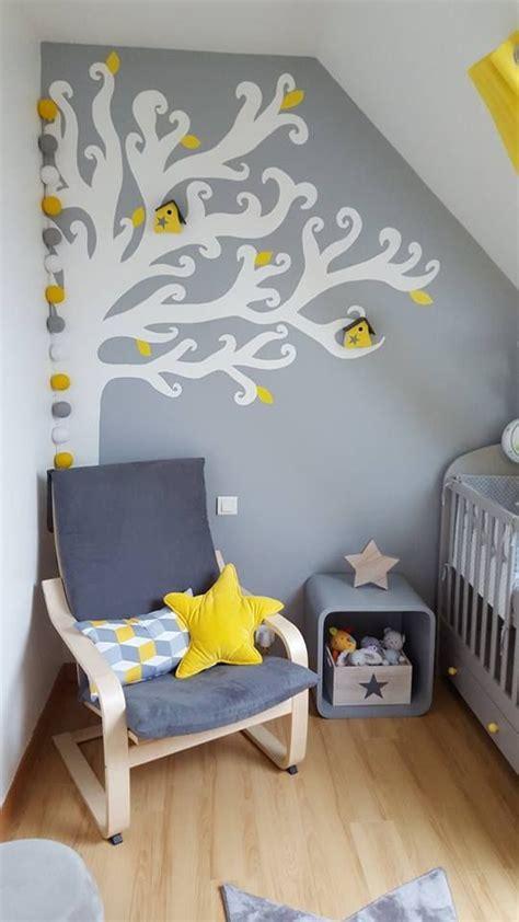 guirlande lumineuse chambre fille les 25 meilleures id 233 es concernant chambres de b 233 b 233 jaune