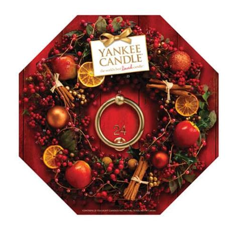yankee candle advent calender family budgeting
