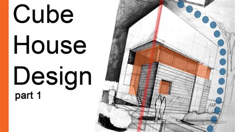 cube design house drawing tutorial cube house design arch student com