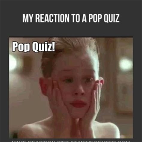 Quiz Meme - pop quiz time by dragonfable45 meme center