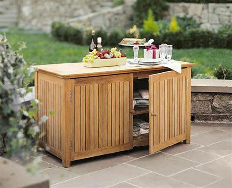Patio Storage Cabinets - a grade teak bar chest cabinet teak garden outdoor patio