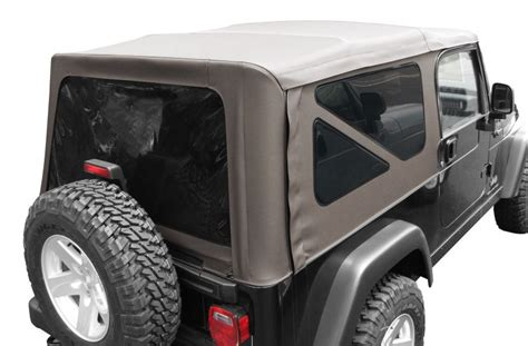 Jeep Wrangler Sunrider 82208869ac Mopar 174 Sunrider Soft Top For 04 06 Jeep