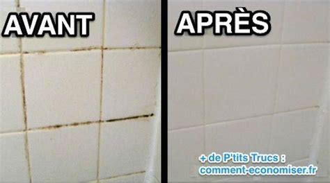 nettoyer carrelage salle de bain joint