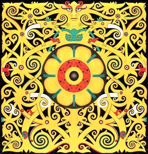 tato motif kartun mengenal berbagai macam motif seni lukis suku dayak kaskus