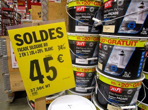 peinture facade 851 les soldes brico d 233 p 244 t