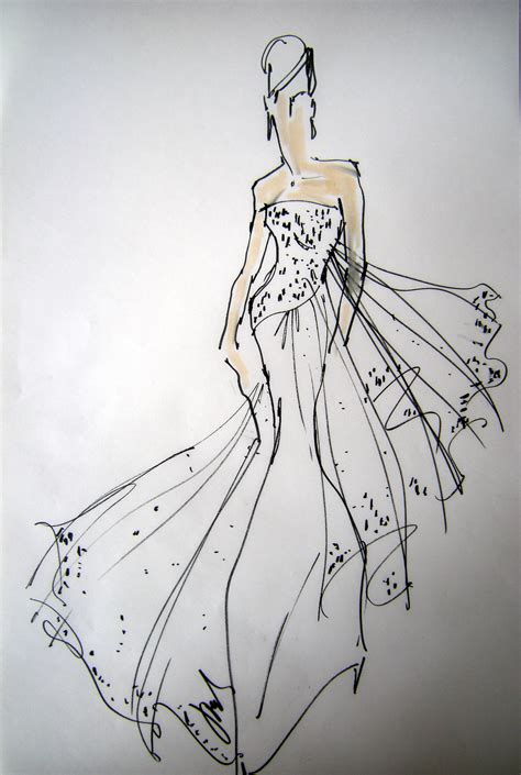 And Sketches by Fashion Sketches Rustic Chic