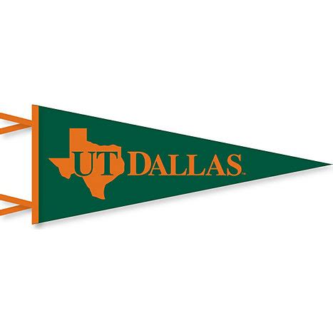 utd colors the of at dallas 12 x 30 pennant