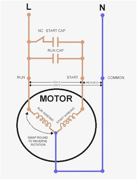 start capacitor wiring diagram wiringdiagrams