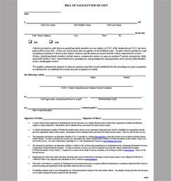 bill of sale template wa used car bill of sale letter template and form sle