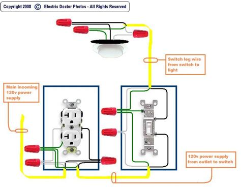 switched outlet wiring diagram outlet to switch to light wiring diagram fitfathers me