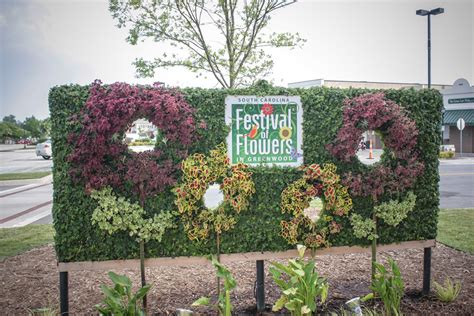 signature topiary display south carolina festival of flowers