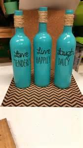 best 25 decorated wine bottles ideas on