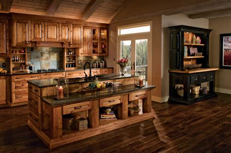 rustic hickory kitchen cabinets kitchen cabinets rustic hickory quicua com