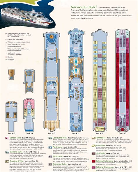 norwegian jewel floor plan ncl cruises norwegian jewel cruiseship ncl cruises