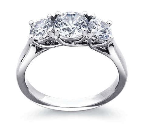 Trellis Engagement Ring three trellis engagement ring in platinum blue nile