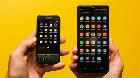 htc mobile android android turns 10 s fierce iphone rival had a