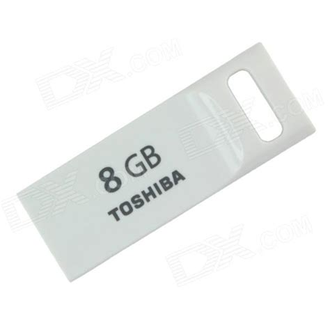Flash Disk Toshiba toshiba transmemory usrg 08gs wh usb 2 0 flash drive disk white 8gb free shipping