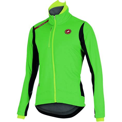 green cycling jacket castelli mens green senza cycling jacket size l new ebay