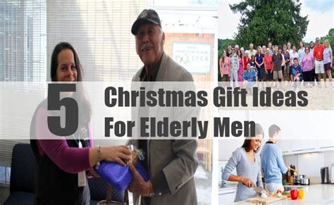 christmas gift ideas for elderly men best christmas