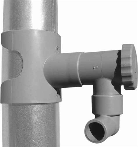 recuperation eau de pluie gouttiere 1972 r 233 cup 233 rateur d eau pour goutti 232 re circulaire gris