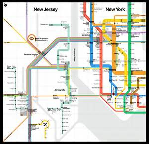 New Subway Map by Super Bowl Subway Map Business Insider