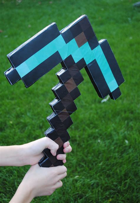 minecraft pickaxe    minutes  steps