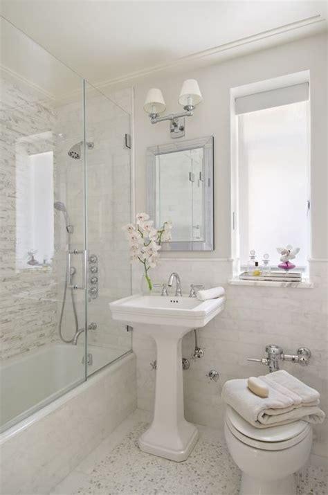 sweet bathrooms  pedestal sinks messagenote