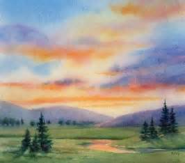 best 25 watercolor landscape ideas on pinterest