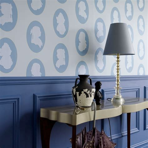 Paint Over Wood Paneling by Hallway Wallpaper Ideas