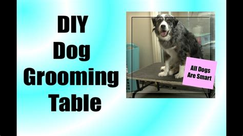 diy grooming diy grooming table